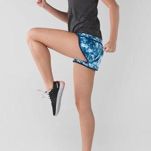 lululemon athletica Shorts - Rare Lululemon Run: Speed Short Sea Side Tie Dye-6